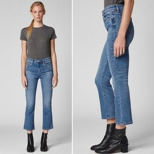 NEW Blank NYC The VanDam High Rise Crop Flare Jean